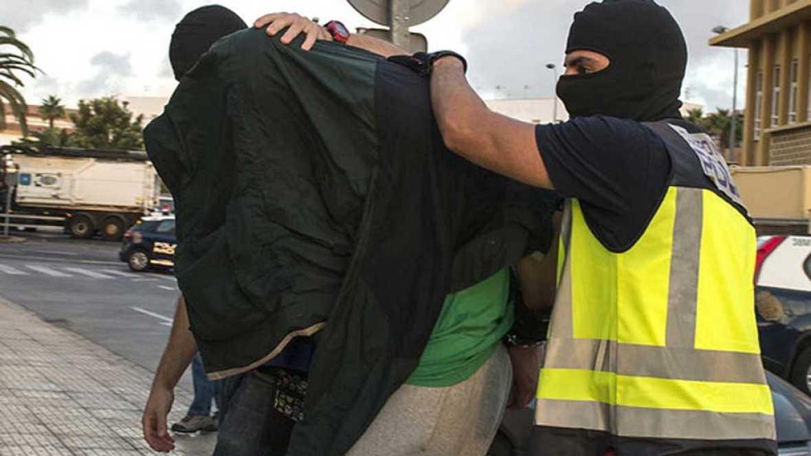 Detenidos cinco presuntos yihadistas en una operaci�n conjunta en Espa�a, Alemania y B�lgica