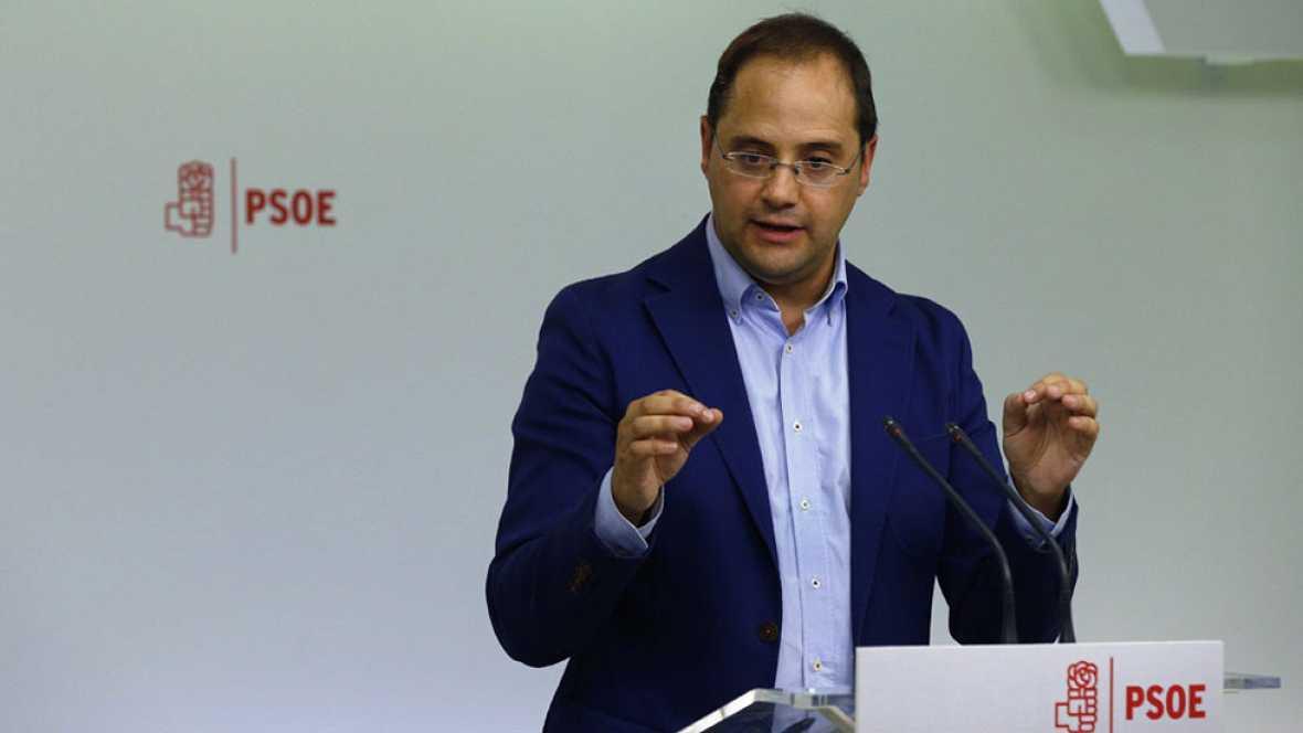 """Luena califica de """"muy grave"""" las dimisiones en la Ejecutiva del PSOE y les acusa de pretender que """"los militantes no hablen"""""""