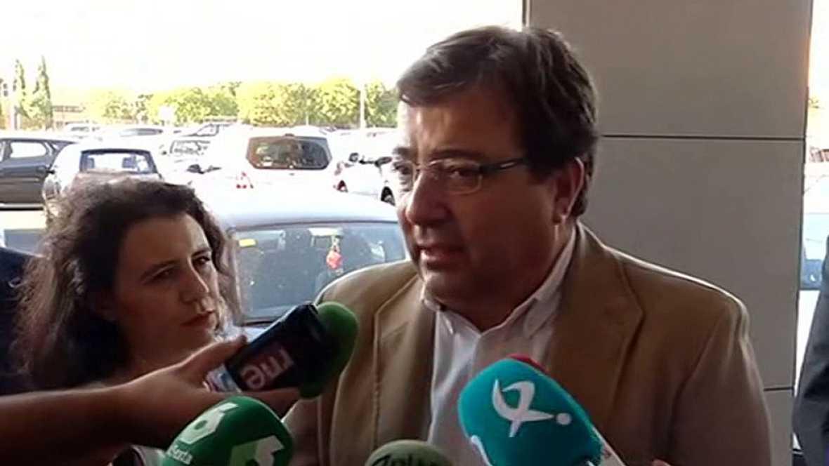 """Fernández Vara responsabiliza a la dirección del PSOE de """"no ser capaz de buscar consenso"""""""