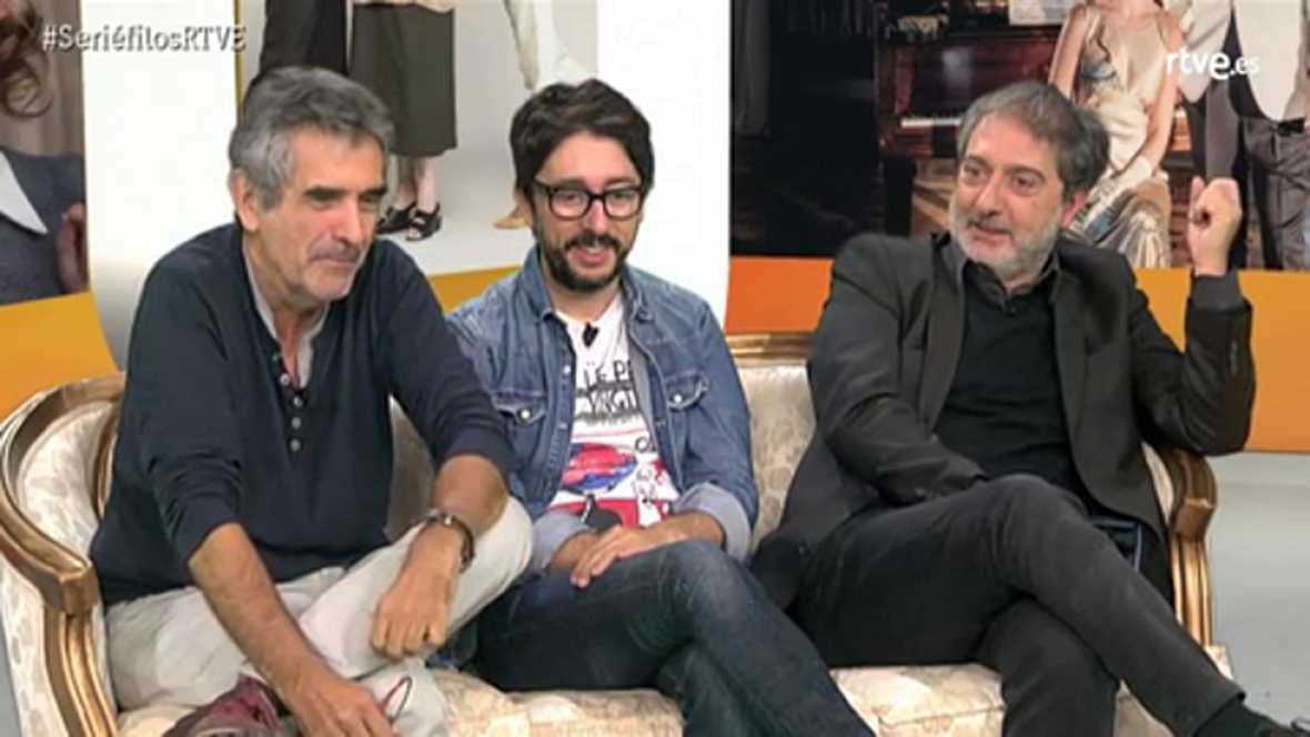 Olivares, Oristrell y Flipy destapan algunos secretos de las nuevas temporadas de Cuéntame y MDT
