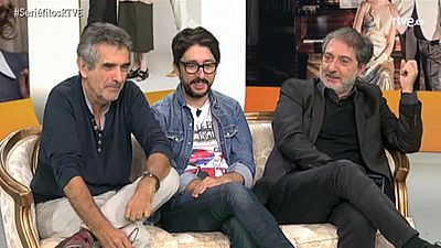 Olivares, Oristrell y Flipy destapan algunos secretos de las nuevas temporadas de Cu�ntame y MDT