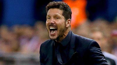 """Simeone: """"Es uno de los mejores partidos desde que estoy en el Atl�tico"""""""
