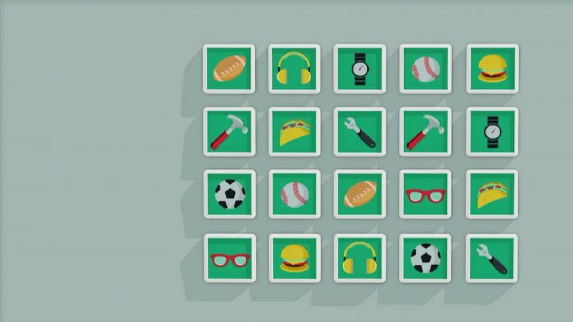 Desafía tu mente - Memoriza la localización de cada pareja de objetos