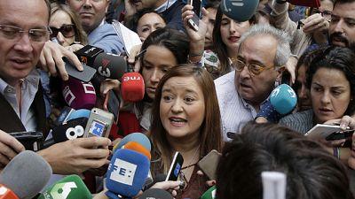 """Ver�nica P�rez pide a S�nchez """"dignidad, responsabilidad y sentido com�n"""" para que """"no se atrinchere en Ferraz"""""""