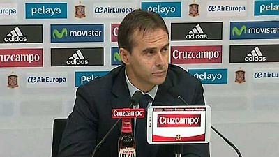Fútbol - Rueda de prensa Julen Lopetegui, Seleccionador español - ver ahora