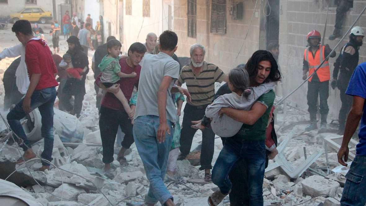 El Ejército de Al Assad y la aviación rusa avanzan sobre posiciones rebeldes en las provincias sirias de Idlib y Alepo