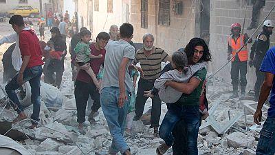 El Ej�rcito de Al Assad y la aviaci�n rusa avanzan sobre posiciones rebeldes en las provincias sirias de Idlib y Alepo