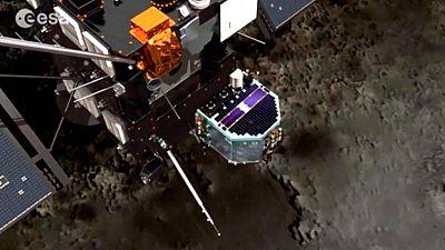Fin de la sonda 'Rosseta' la nave ha cumplido su misi�n, alcanzar el cometa 67-P tras recorrer 8.000 millones de km en el espacio