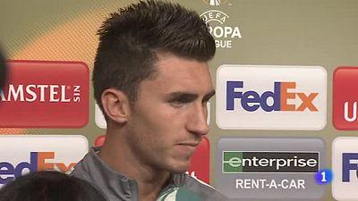 """Tanto el jugador del Athletic como el seleccionador español zanjan el tema. """"Nunca ha sido una opción porque nunca ha sido seleccionable"""", afirmó Julen."""