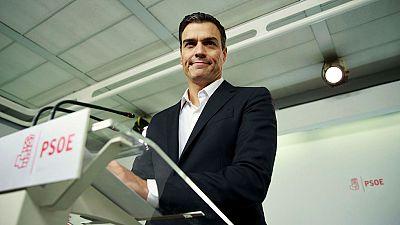 S�nchez anuncia que dimitir� si el Comit� Federal apoya la abstenci�n a Rajoy