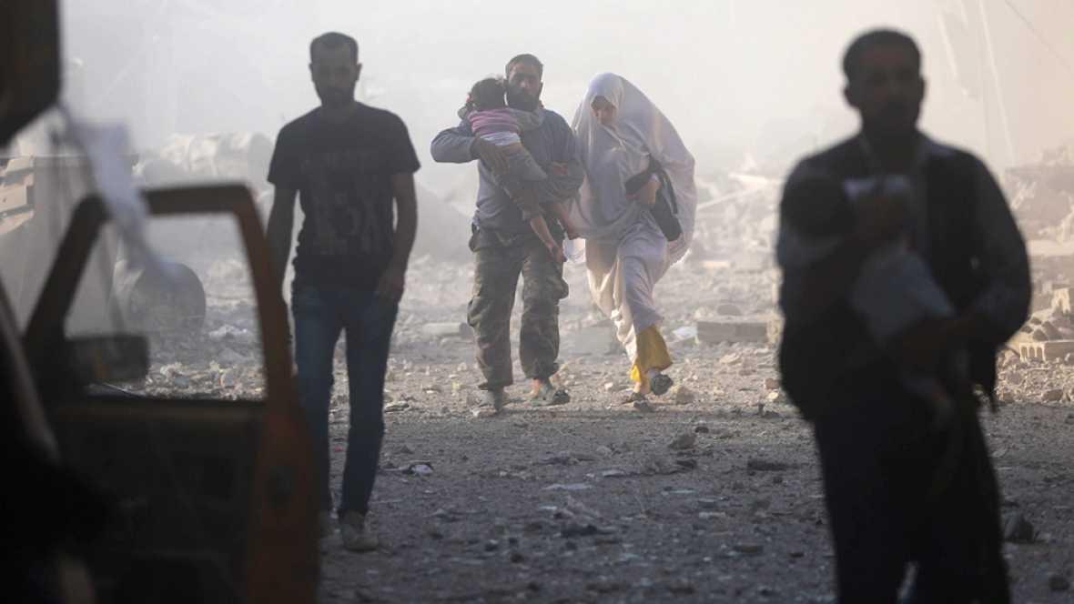En las últimas dos semanas la guerra en Alepo ha dejado unos 400 muertos