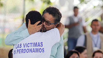 Las FARC piden perdón en el lugar donde perpetró una de sus peores matanzas