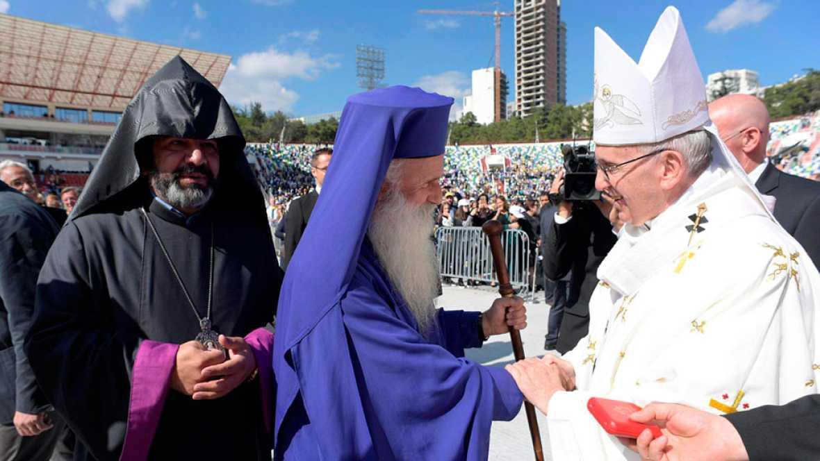 Segunda jornada del papa en Georgia, un viaje con un marcado carácter ecuménico e interreligioso