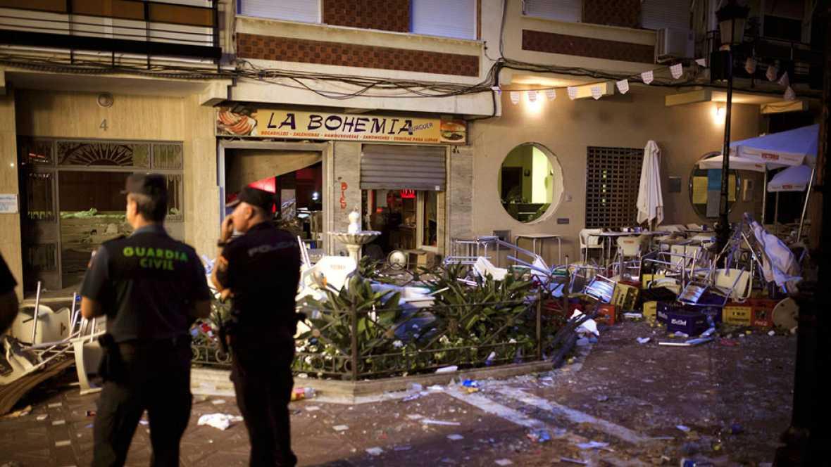 50 heridos tras una explosión en la feria de Vélez-Málaga