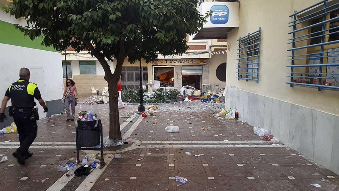 90 heridos en la Feria de Vélez-Málaga tras una deflagración por gas