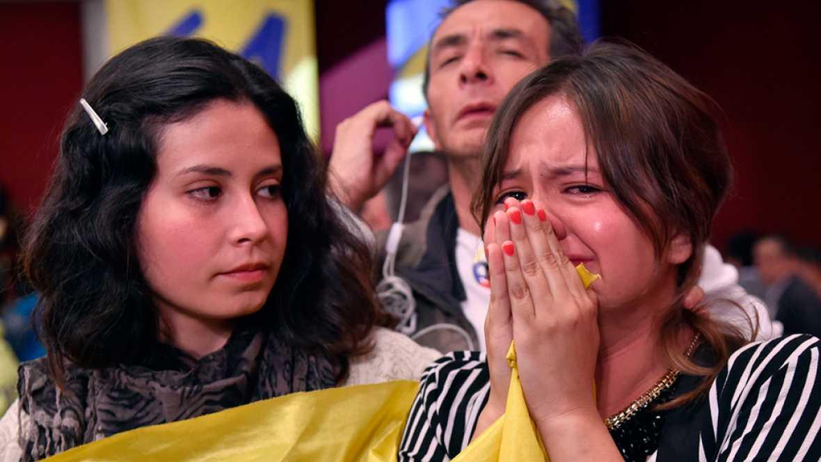 Los colombianos dicen 'no' al acuerdo de paz con las FARC