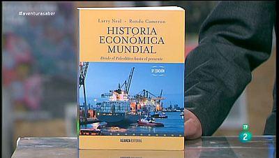 La Aventura del Saber. TVE. Libros recomendados. Historia Económica Mundial, desde el Paleolítico hasta el presente