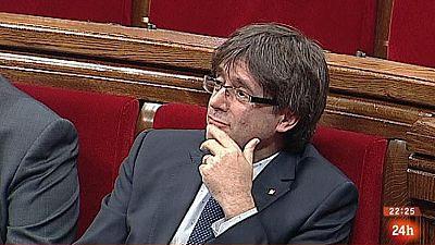 Parlamento - Otros parlamentos - Moción de confianza en Cataluña - 02/10/2016