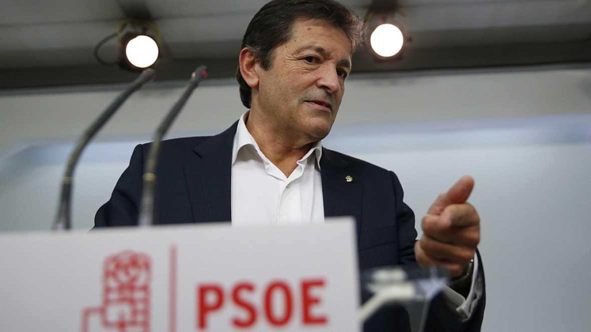Primera reunión de la gestora del PSOE que estará al frente del partido