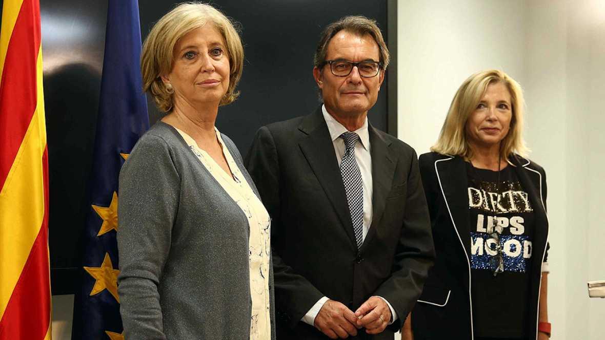 La Fiscalía pide diez años de inhabilitación para Artur Mas y nueve para sus consejeras por el 9N