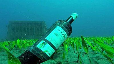 Los vinos canarios maduran ahora bajo el mar