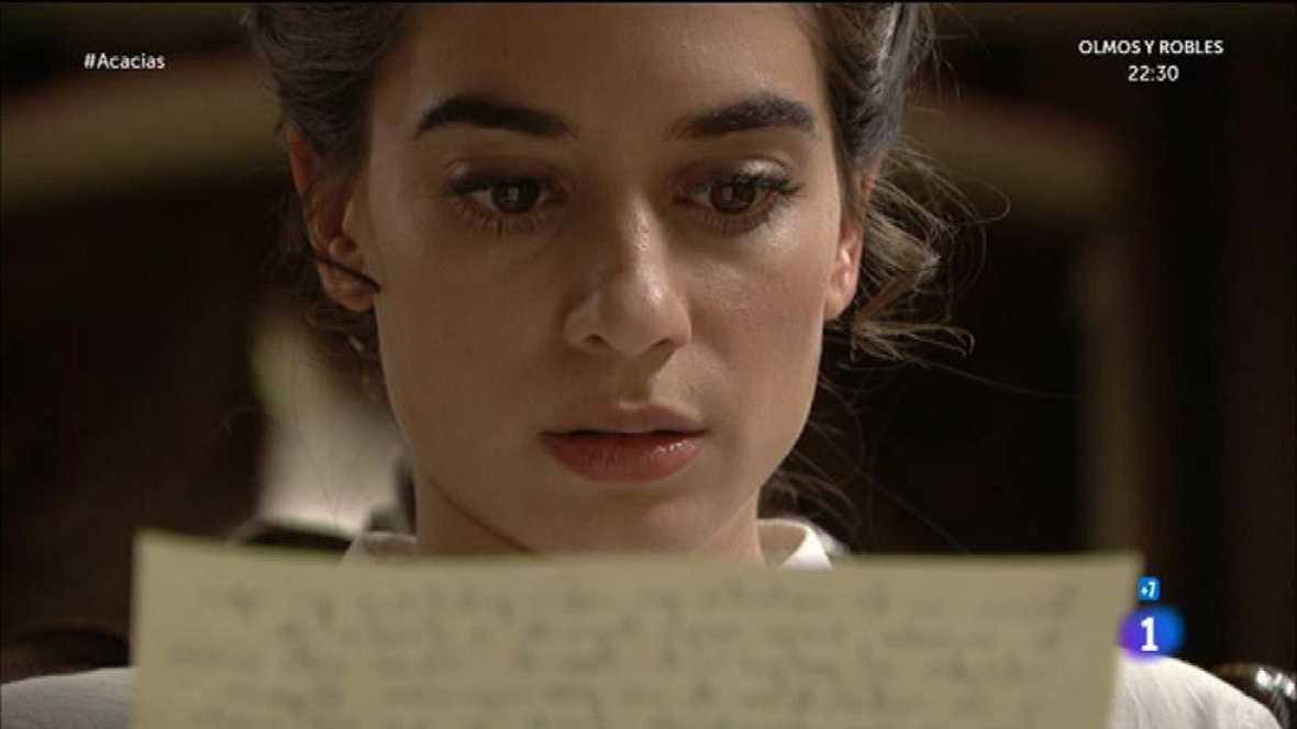 Mauro manda una carta a Teresa advirtiéndole sobre Cayetana