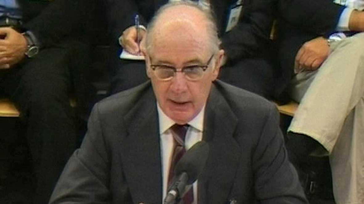 """Rato dice que las tarjetas opacas de Caja Madrid eran """"un incentivo perfectamente legal"""""""