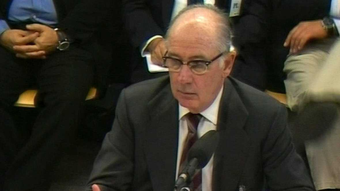 Rato defiende que el sistema de tarjetas de Caja Madrid era legal