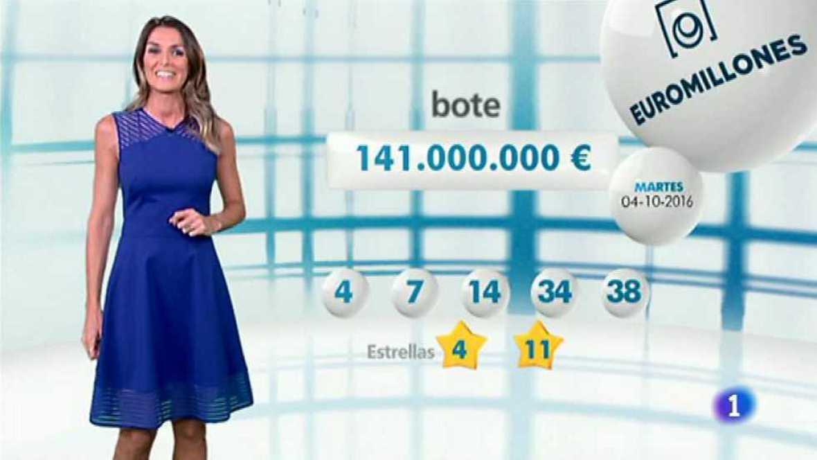 Bonoloto + EuroMillones - 04/10/16 - ver ahora