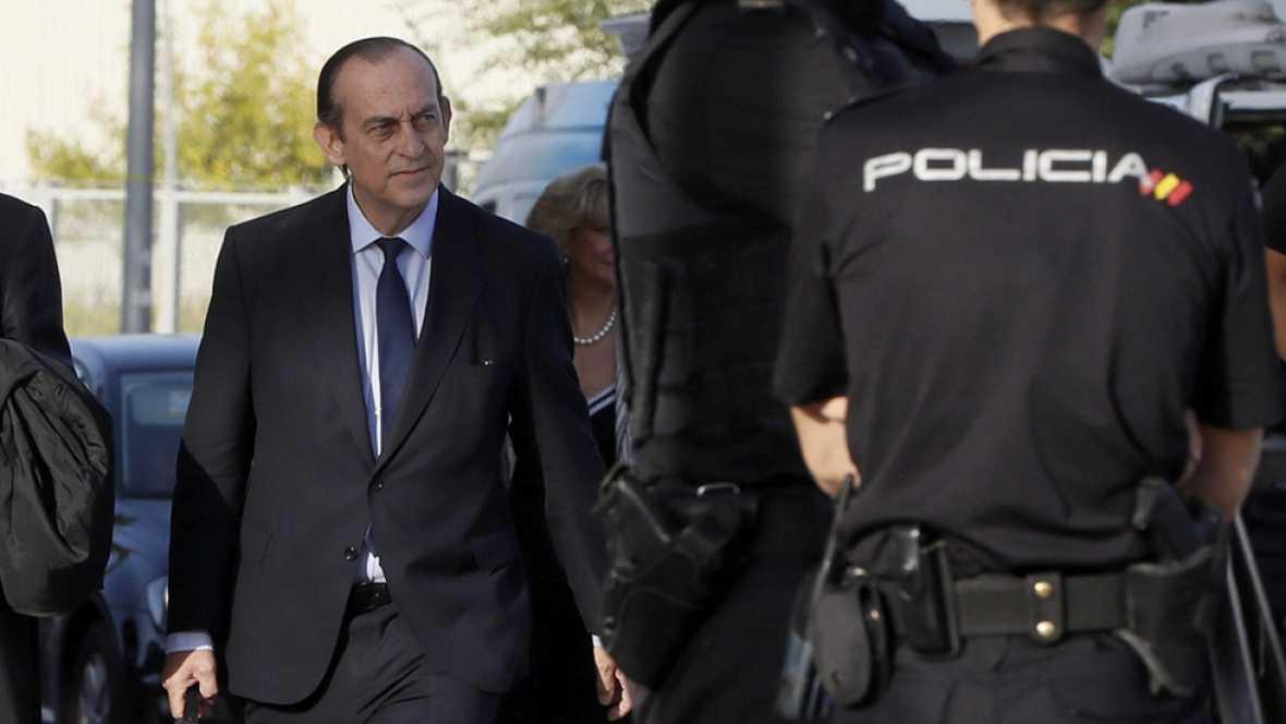 Quinta sesión del juicio por las tarjetas opacas de Caja Madrid