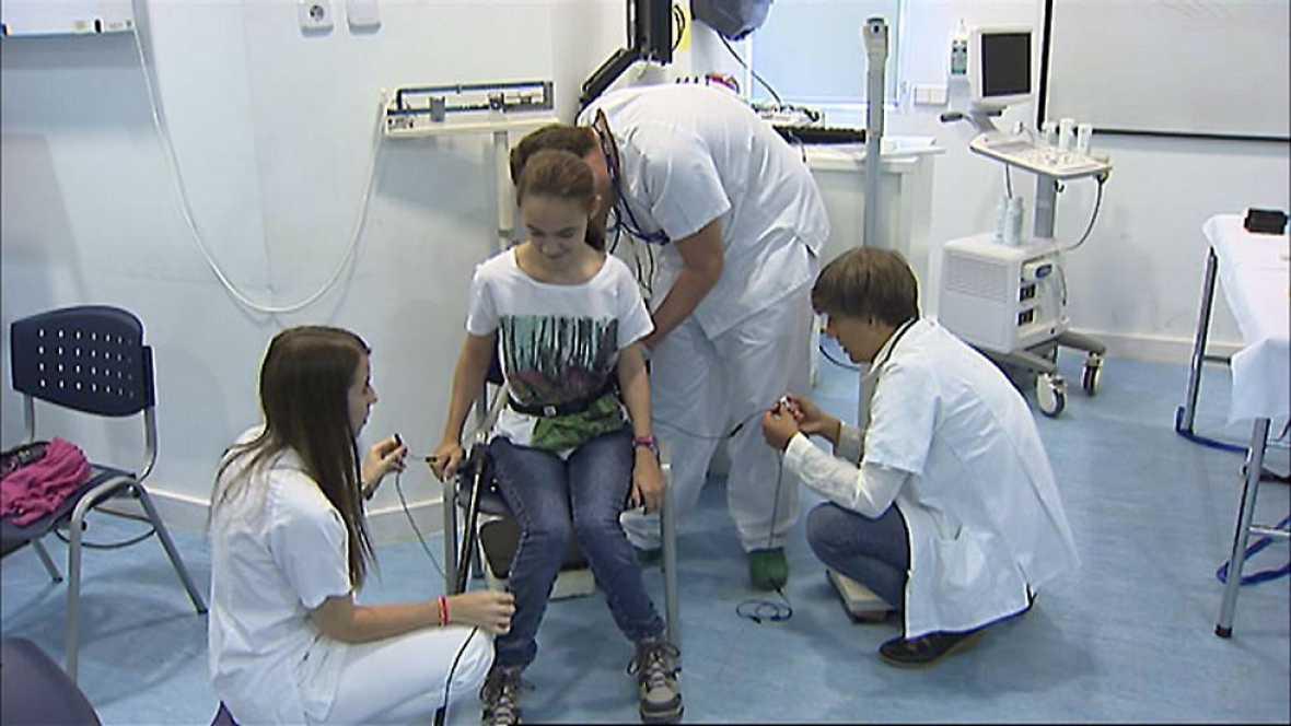 Uno de cada 500 nacidos en España tiene parálisis cerebral.