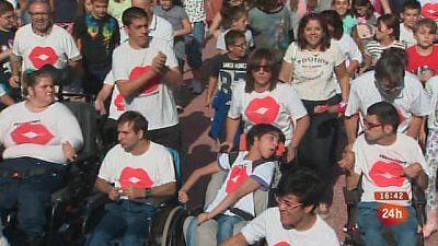 El movimiento Aspace celebra el Día Mundial de la Parálisis Cerebral con un flashmob