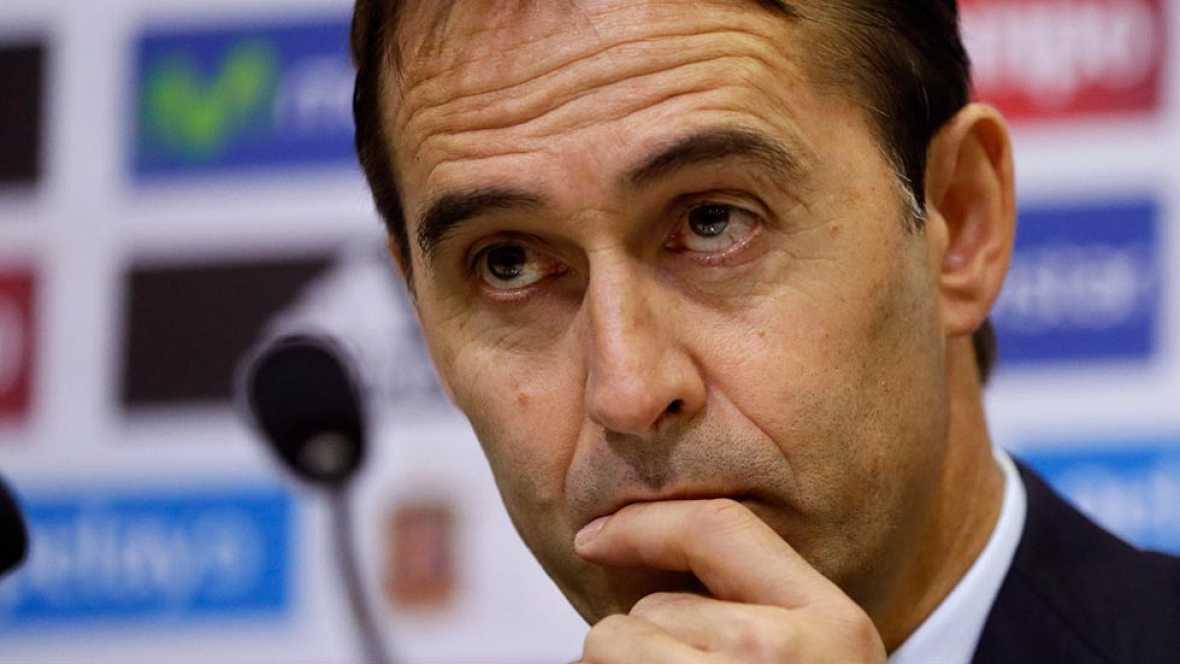 El seleccionador nacional admite la dificultad del partido de Turín y destaca que lo importante no será el once que disponga sino la intensidad y la concentración con la que salgan sus jugadores.
