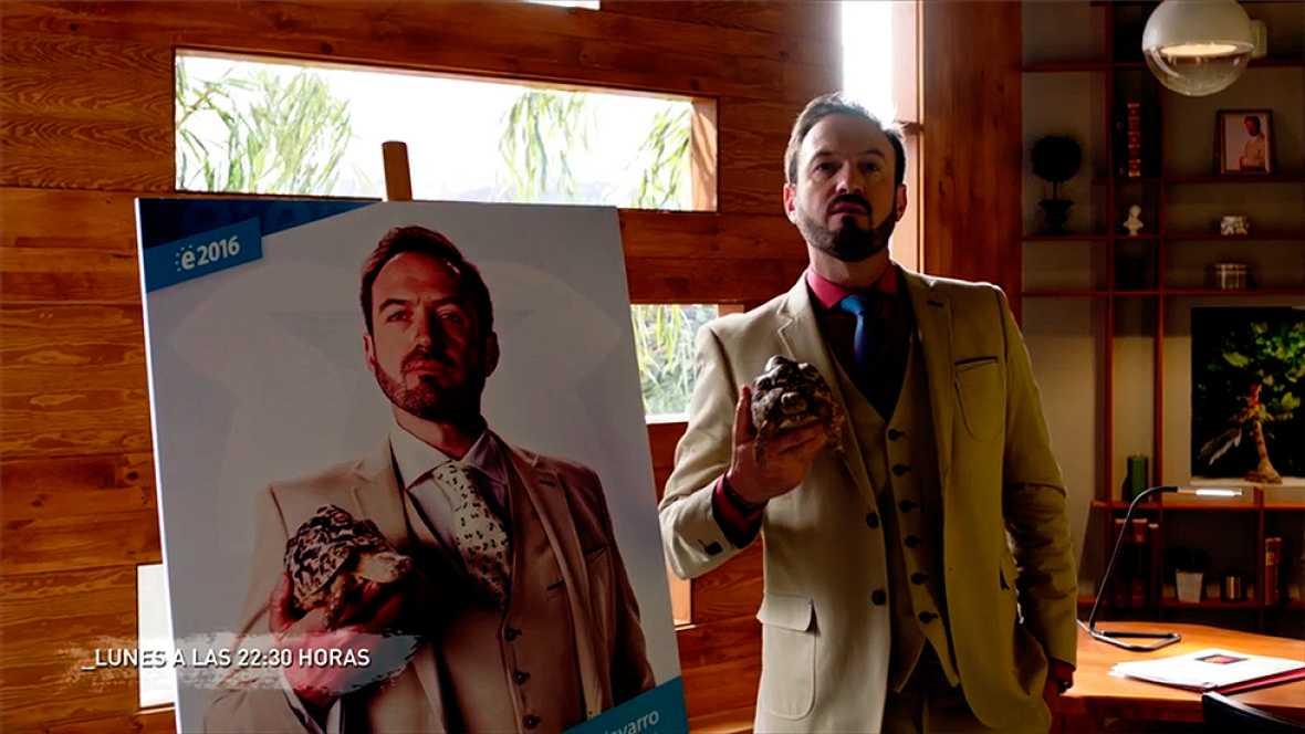 Olmos y Robles - ¡Damián ya tiene cartel electoral!
