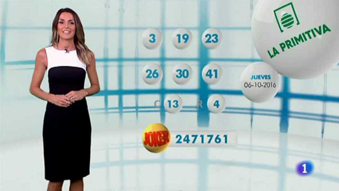 Lotería Nacional + La Primitiva + Bonoloto - 06/10/16 - ver ahora