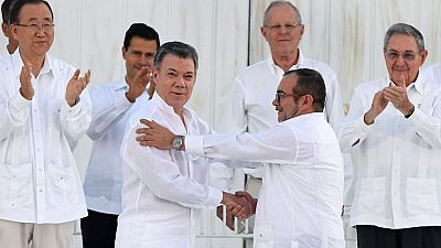 """El presidente de Colombia, Juan Manuel Santos, ha ganado el premio Nobel de la Paz 2016 por sus """"decididos esfuerzos"""" por llevar la paz a su país tras 52 años de conflicto armado, anunció hoy en Oslo el Comité Nobel de Noruega."""