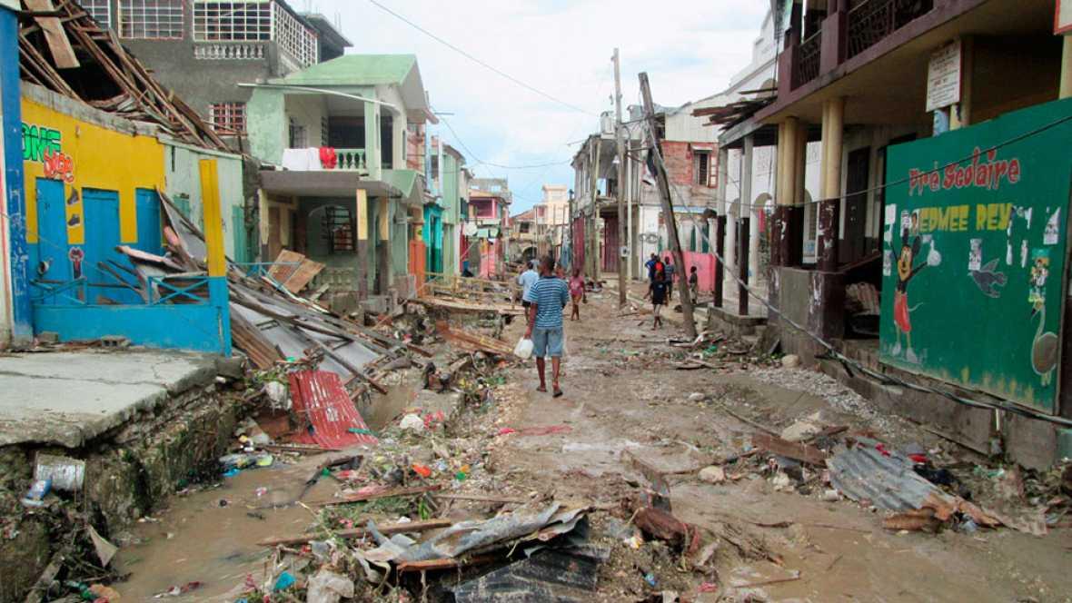 El huracán Matthew deja más de  842 muertos y miles de desplazados en Haití