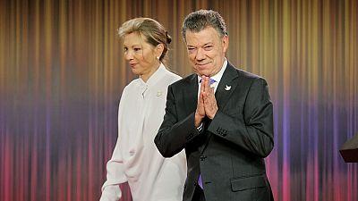 Otorgan el Nobel de la Paz al presidente colombiano Juan Manuel Santos
