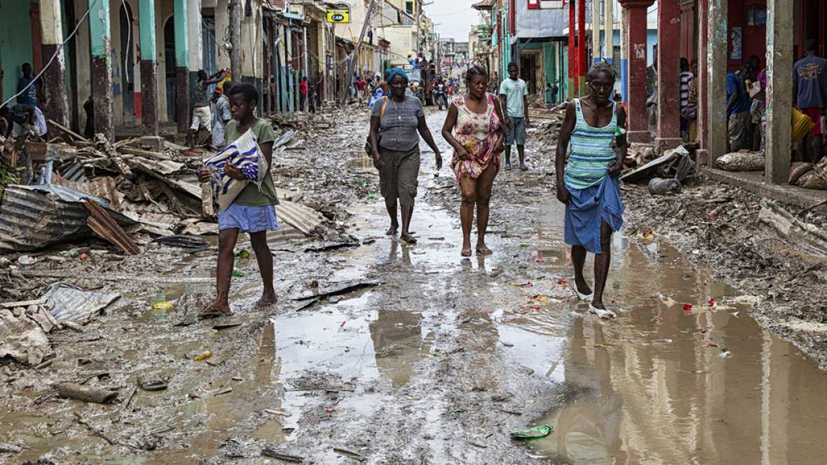 """Oxfam Intermón alerta del daño en Haití por el huracán Matthew: """"La insalubridad es total"""""""