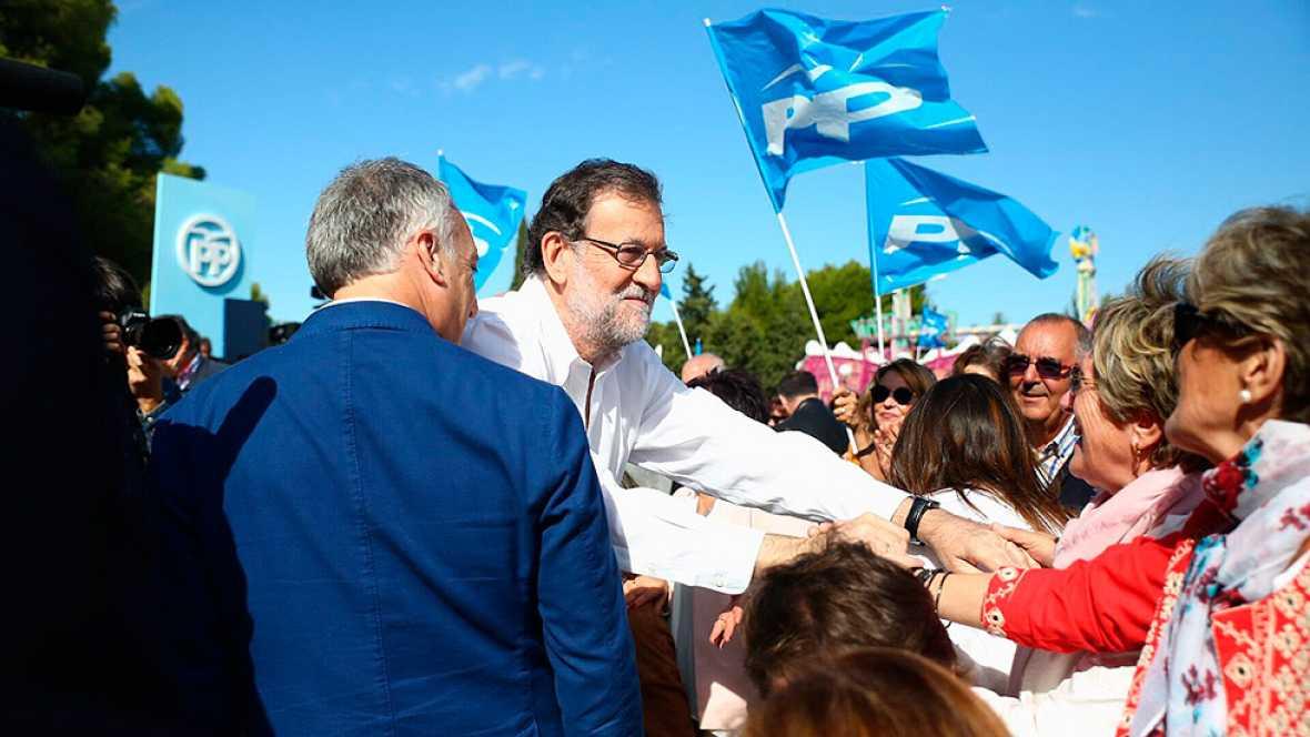 """Rajoy promete trabajar """"día a día"""" para ganarse la gobernabilidad"""