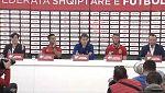 Fútbol - Rueda de prensa de la selección española previa partido Albania