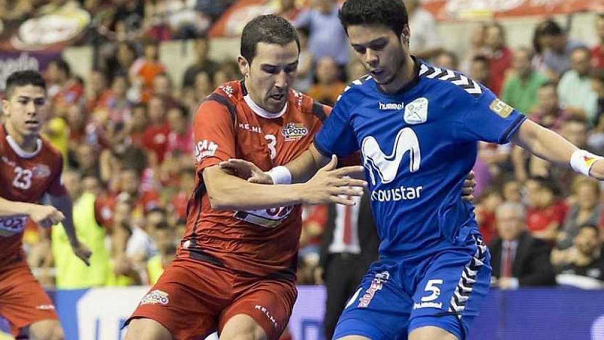 Primer gol de Miguelín para ElPozo Murcia