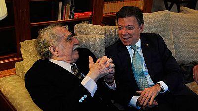 Santos, el segundo colombiano en lograr un Nobel