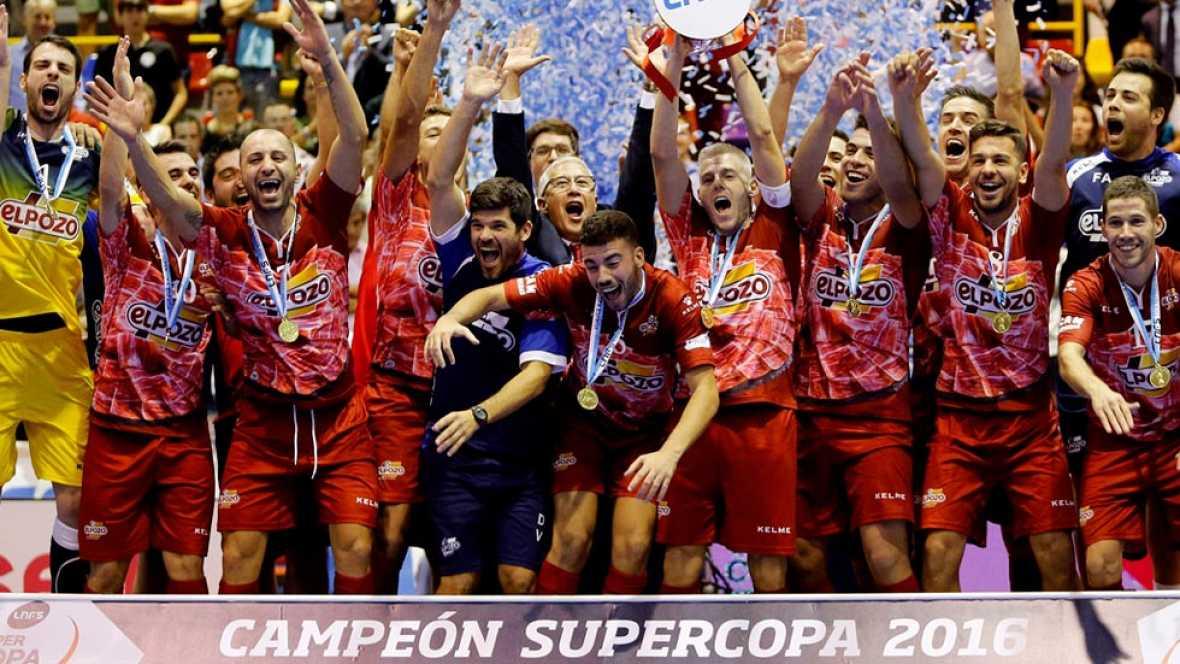 Fútbol Sala - Supercopa de España 2016: Movistar Inter-El Pozo Murcia - ver ahora