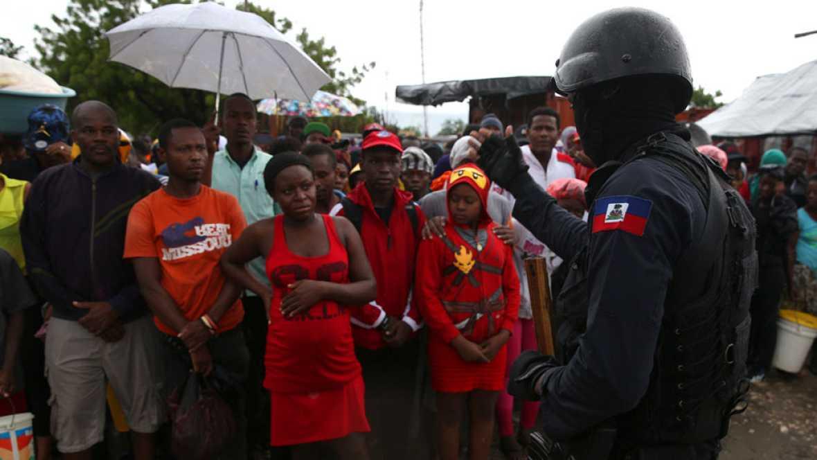 La ayuda humanitaria comienza a llegar a Haití