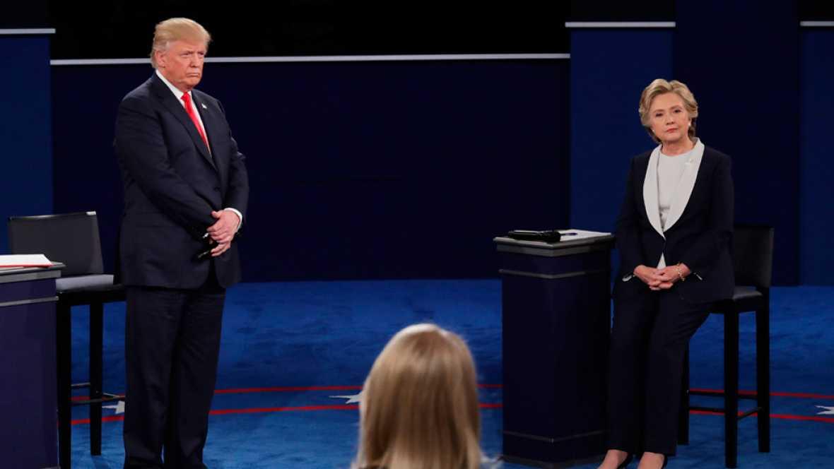 """Trump pide perdón: """"Nadie respeta a las mujeres más que yo"""""""