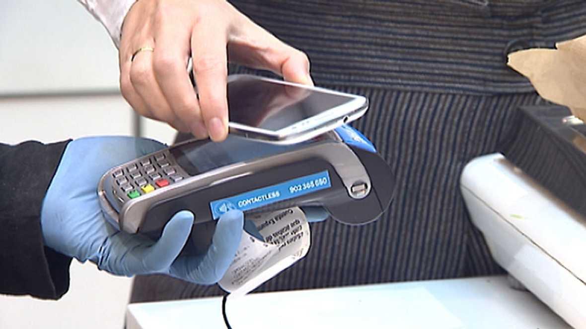 Los teléfonos móviles a la cabeza como nueva forma de pago