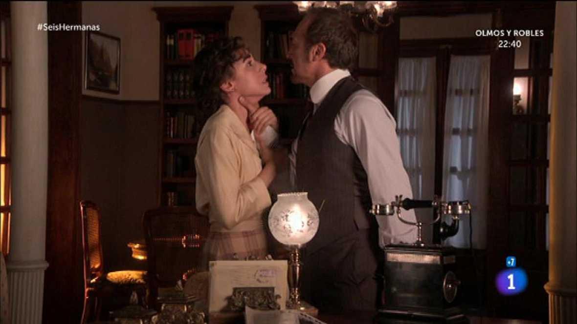 Ricardo agarra del cuello a Celia