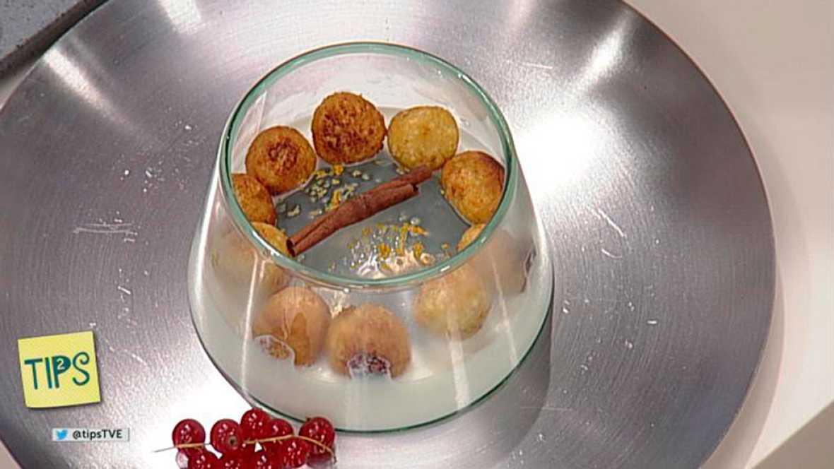 TIPS - Receta - Buñuelos de pan con miel