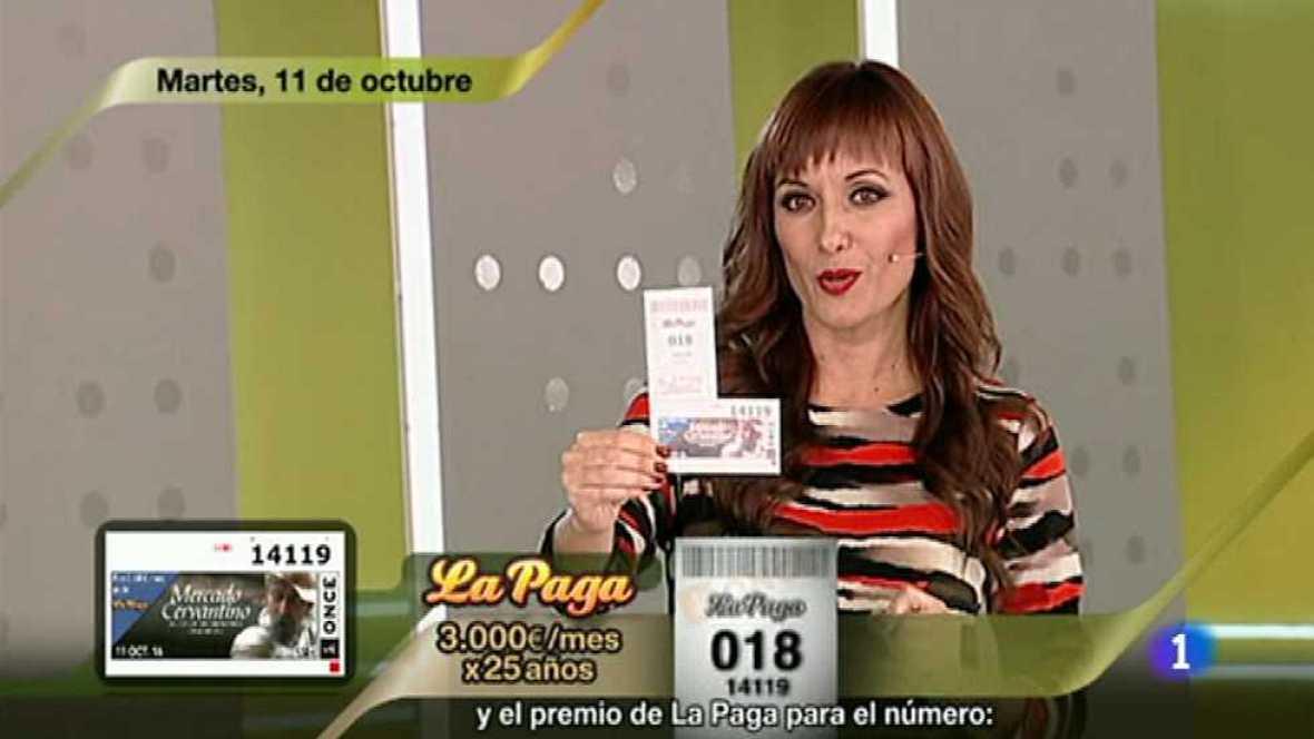 Sorteo ONCE - 11/10/16 - ver ahora